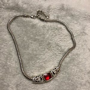 Brighton Ruby bracelet and necklace set